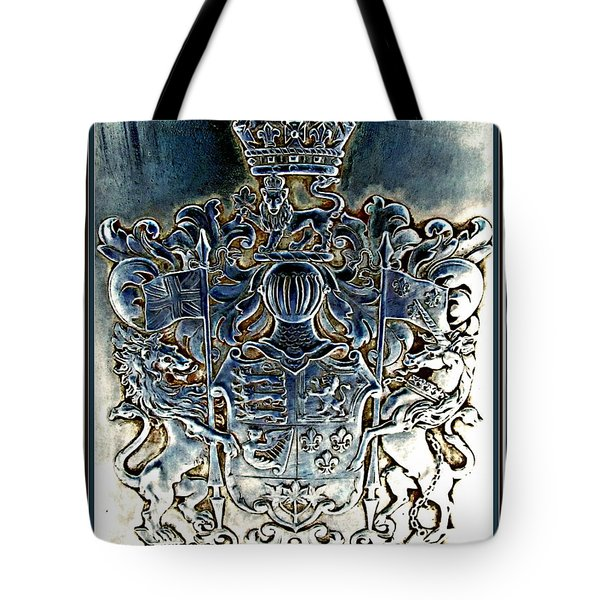 Coat And Armors  Tote Bag by Danielle  Parent
