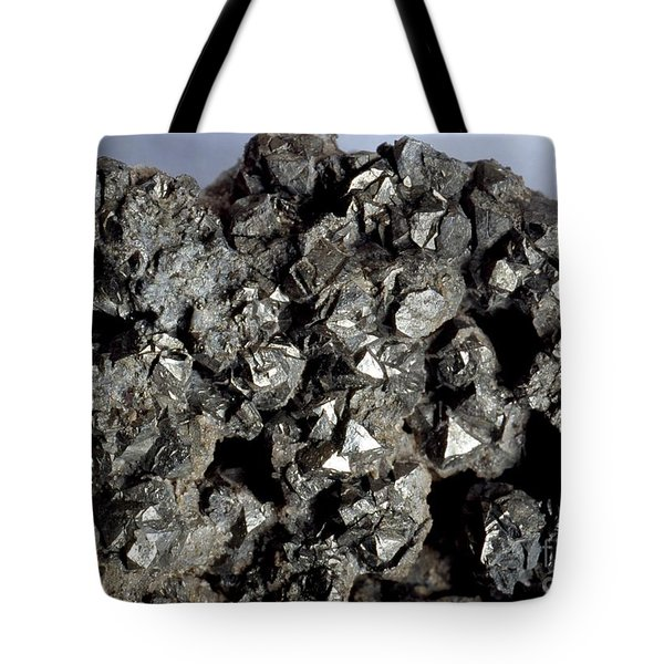 Cobaltine Mineral Tote Bag by Spl