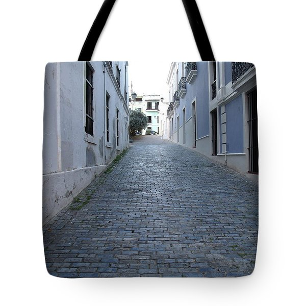 Tote Bag featuring the photograph Cobble Street by David S Reynolds