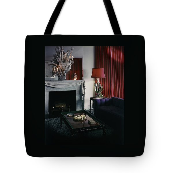 Cobina Wright's Living Room Tote Bag