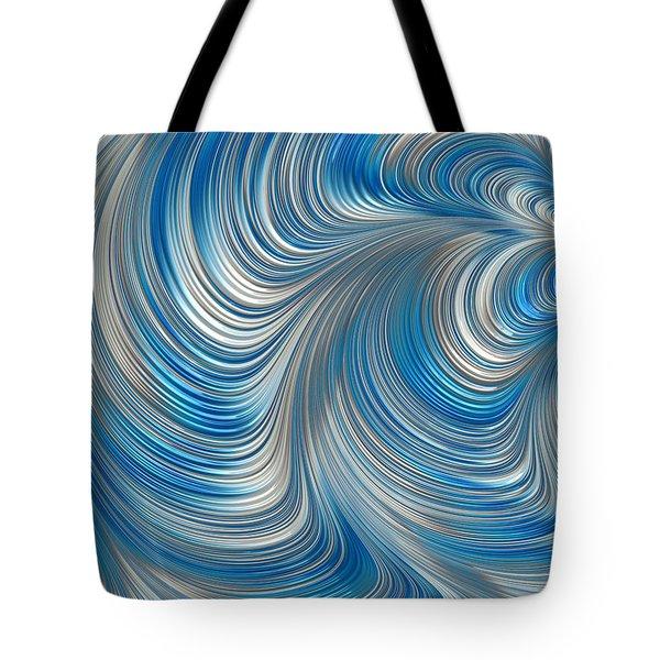 Cobolt Flow Tote Bag