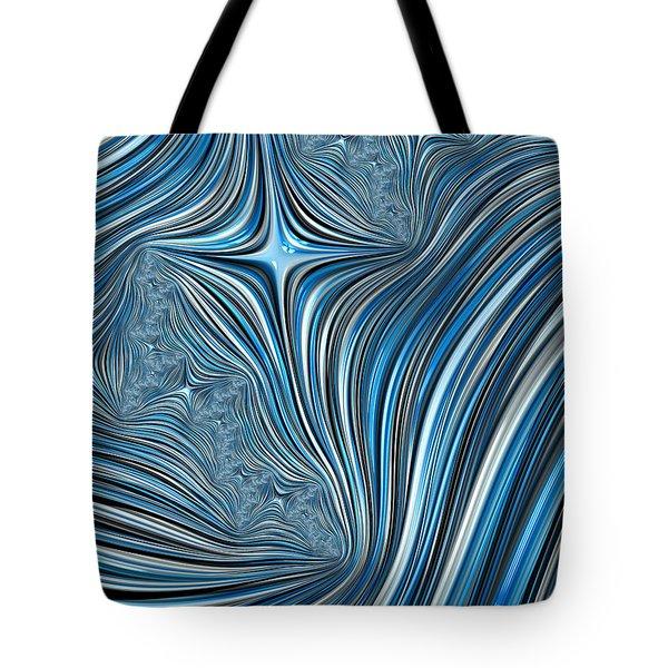 Cobolt Scream Tote Bag