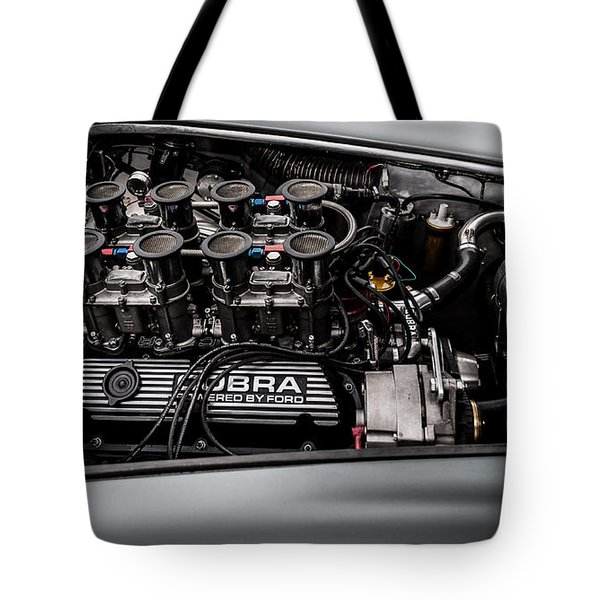 Tote Bag featuring the photograph Cobra Engine by Matt Malloy