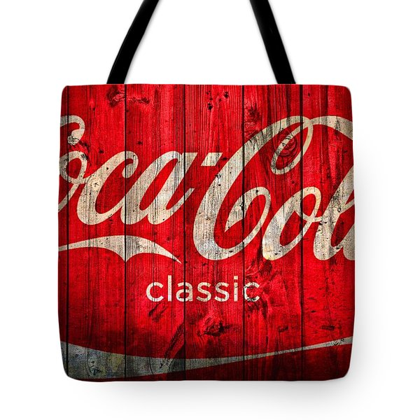 Coca Cola Barn Tote Bag