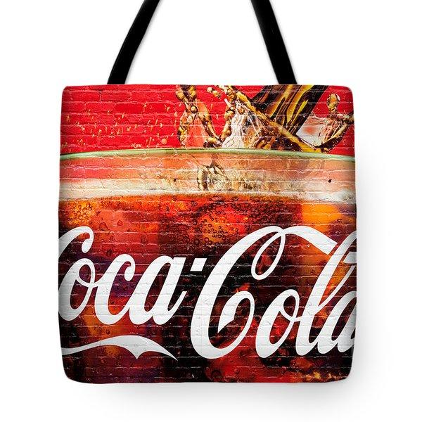 Coca Cola Tote Bag