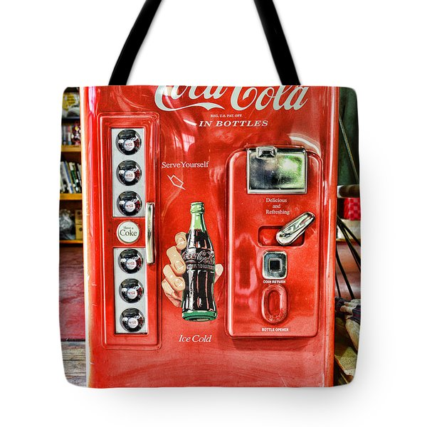Coca-cola Retro Style Tote Bag