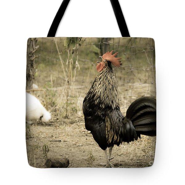 Cockadoodledoo Tote Bag