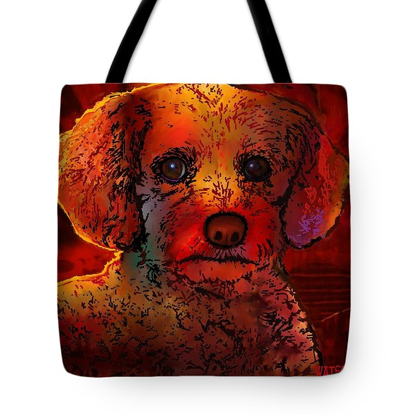 Cockapoo Dog Tote Bag