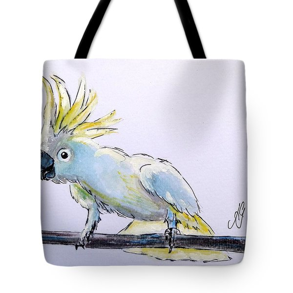 Cockatoo View Tote Bag