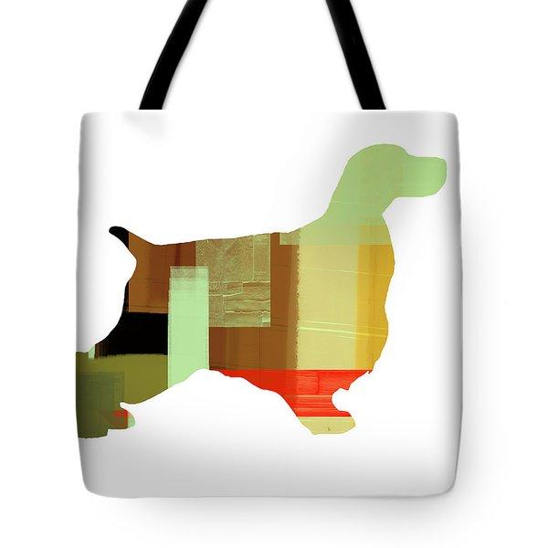 Cocker Spaniel 1 Tote Bag by Naxart Studio