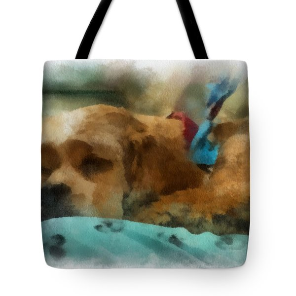 Cocker Spaniel Photo Art 06 Tote Bag by Thomas Woolworth