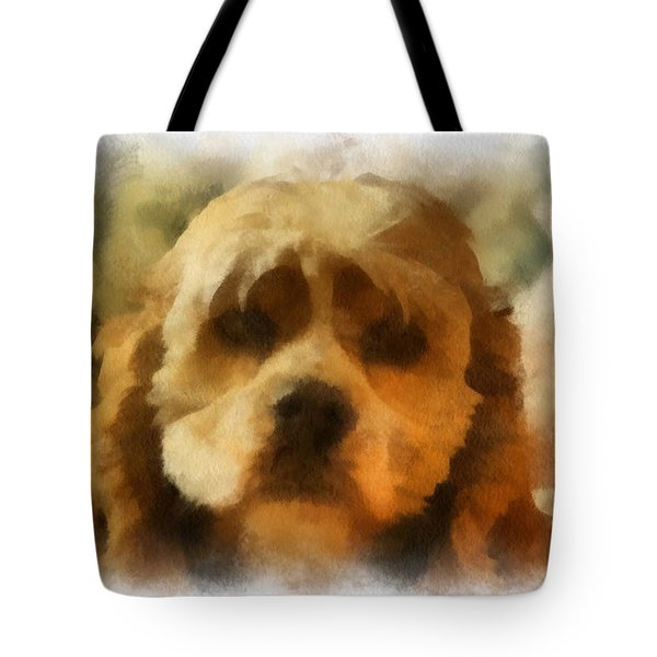 Cocker Spaniel Photo Art 03 Tote Bag by Thomas Woolworth