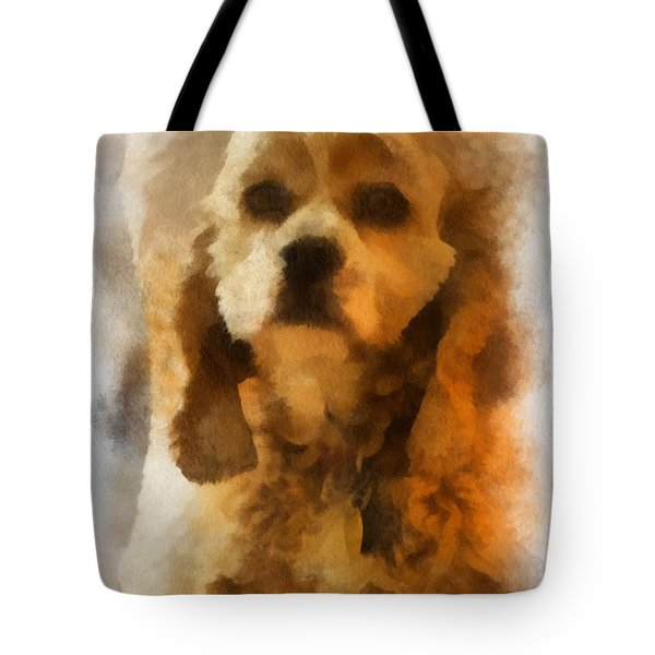 Cocker Spaniel Photo Art 04 Tote Bag by Thomas Woolworth