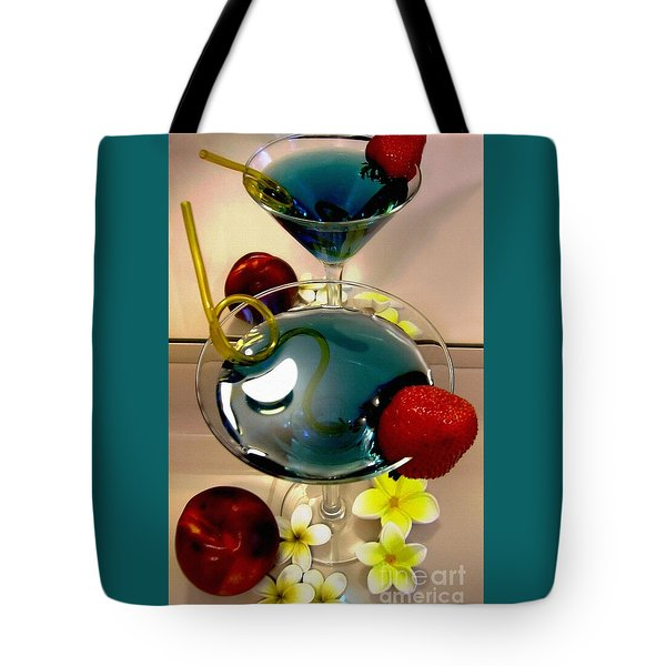 Cocktail By The Spa Tote Bag