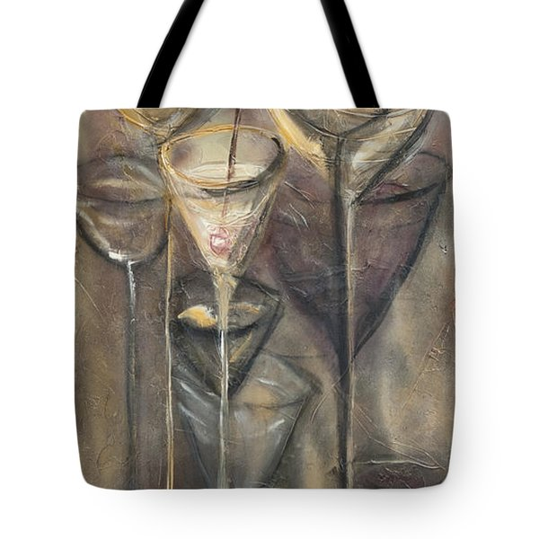 Nine Glasses Tote Bag
