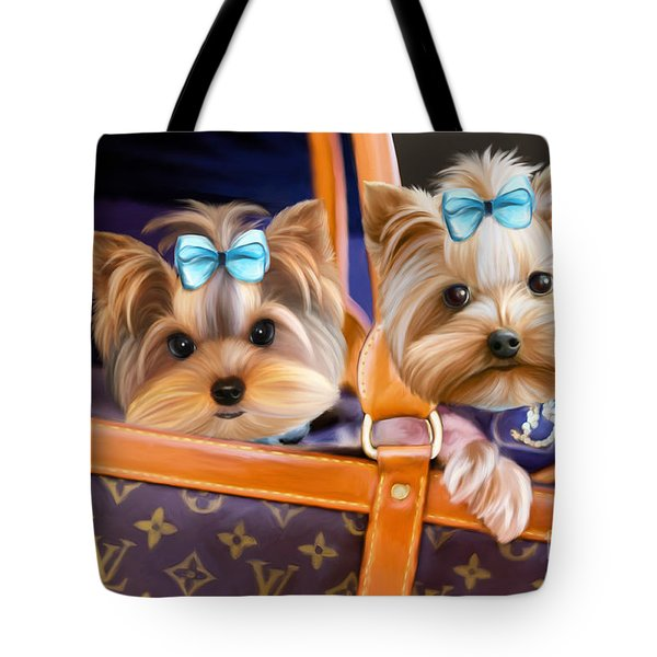 Coco And Lola Tote Bag