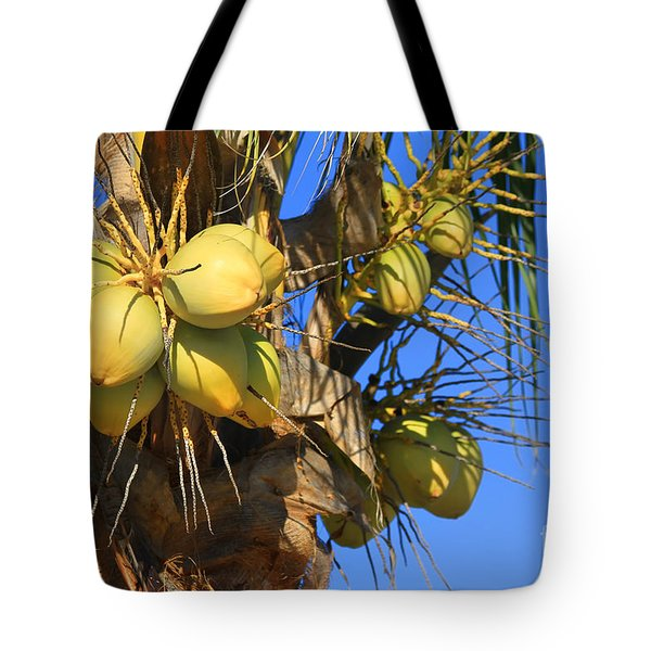 Coconut 2 Tote Bag by Teresa Zieba
