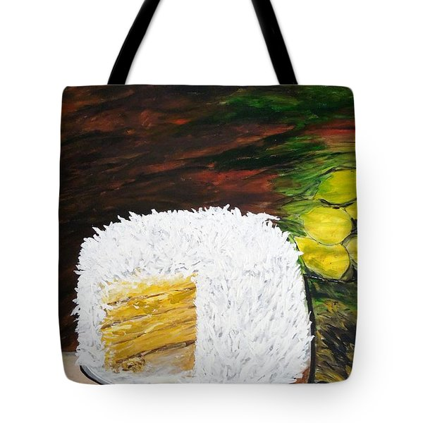 Coconut Cake Tote Bag