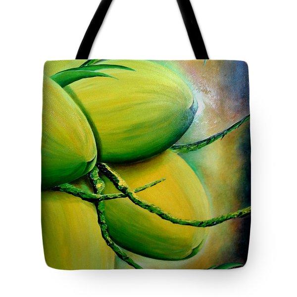 Coconut In Bloom Tote Bag