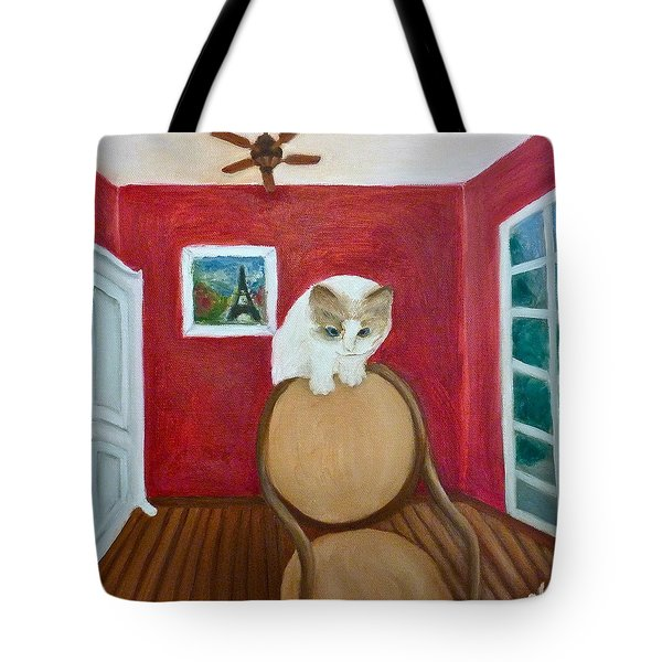 Cody Tote Bag by Victoria Lakes