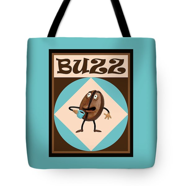 Coffee Buzz Tote Bag