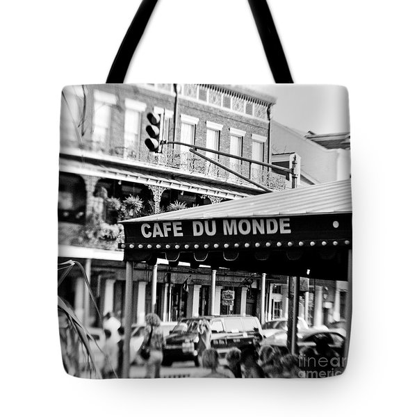 Coffee And Beignets Tote Bag by Scott Pellegrin