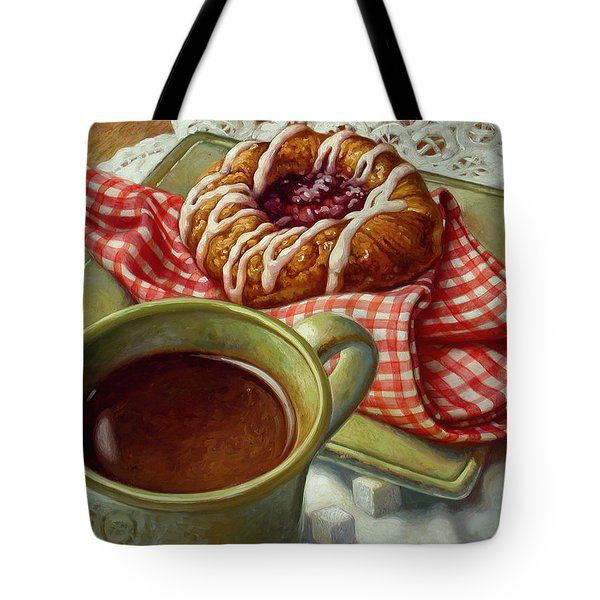 Coffee And Danish Tote Bag