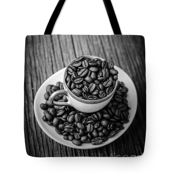 Tote Bag featuring the photograph Coffee Beans by Edward Fielding