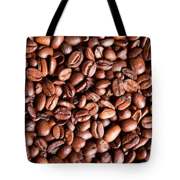 Coffee Beans  Tote Bag by Sharon Dominick