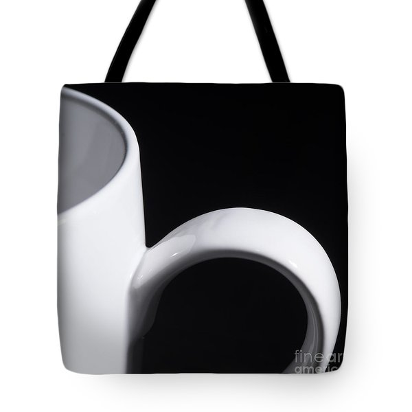 Coffee Cup Tote Bag by Art Whitton