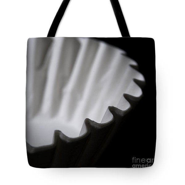 Coffee Filters Tote Bag by Art Whitton