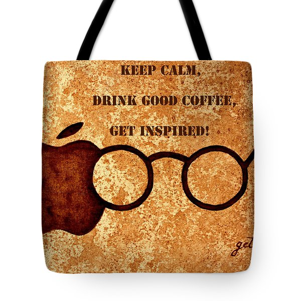 Coffee Lovers Quote 2 Tote Bag