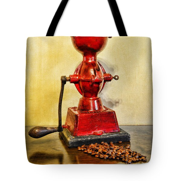 Coffee The Morning Grind Tote Bag by Paul Ward