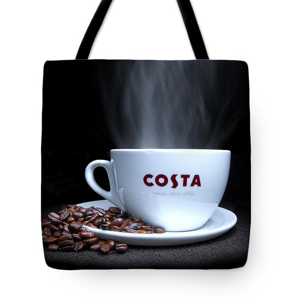 Coffee Time Tote Bag by Rob Guiver