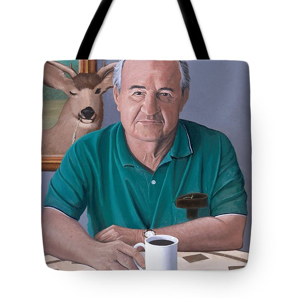 Coffee With Bob Friend Of Nature Tote Bag