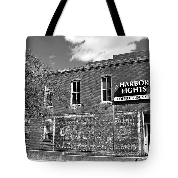 Coffeehouse  Tote Bag by Chris Berry