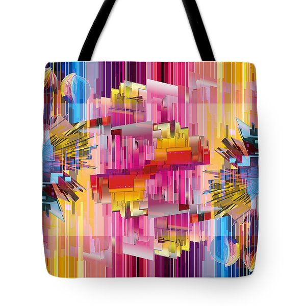 Cognitive Dissonance 4 Tote Bag by Angelina Vick