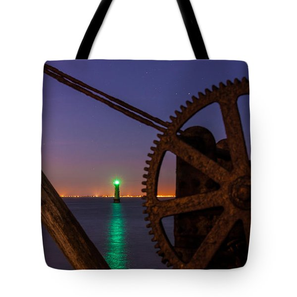 Cogwheel Framing Tote Bag by Semmick Photo