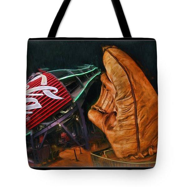 Coke Bottle Catch Tote Bag by Blake Richards