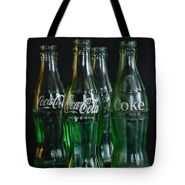 Coke Bottles From The 1950s Tote Bag by Paul Ward