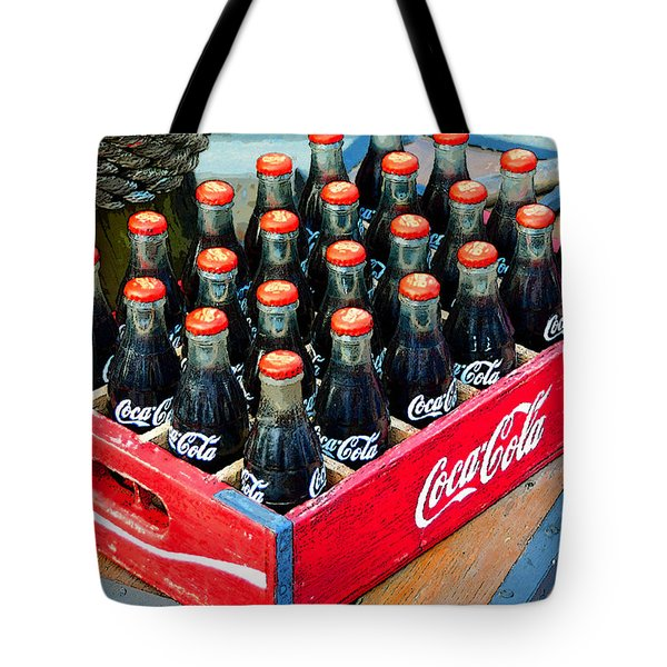 Coke Case Tote Bag