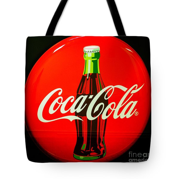 Coke Top Tote Bag by Tikvah's Hope