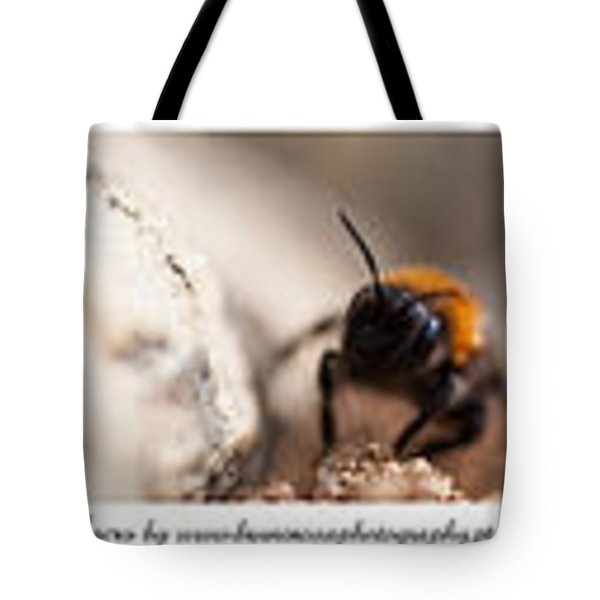 Colage Of Macro Tote Bag