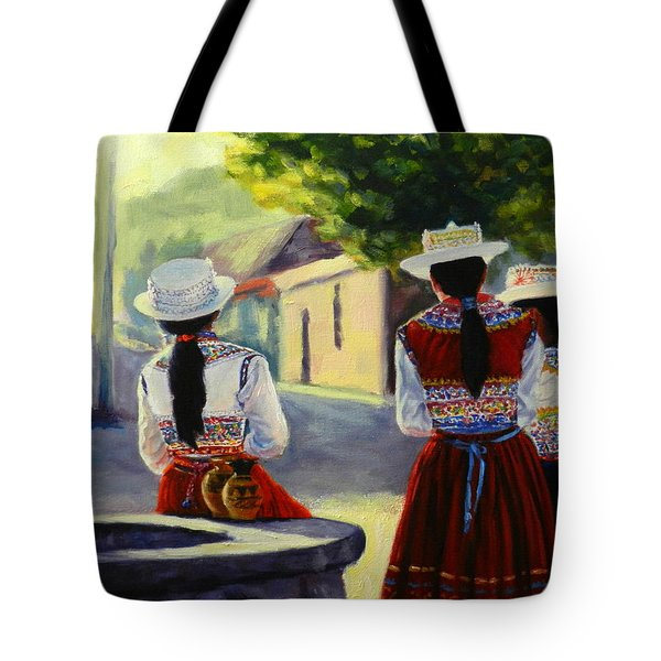 Colca Valley Ladies Tote Bag