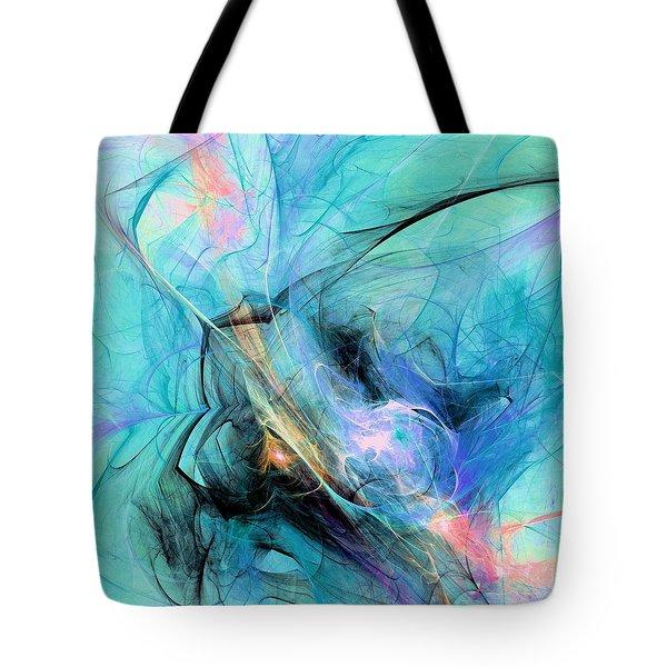 Cold Tote Bag by Anastasiya Malakhova