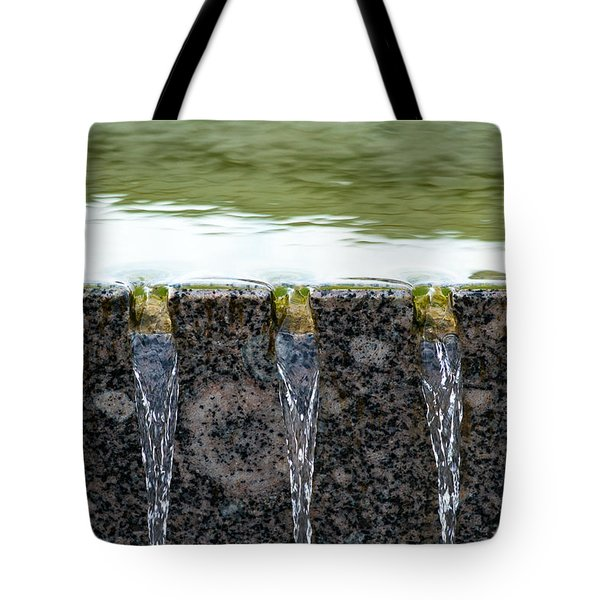 Cold And Clear Water - Featured 3 Tote Bag by Alexander Senin