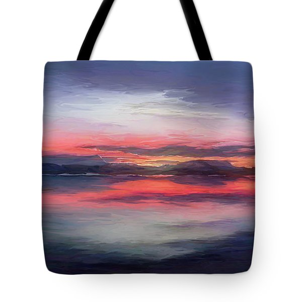 Cold Bay Tote Bag
