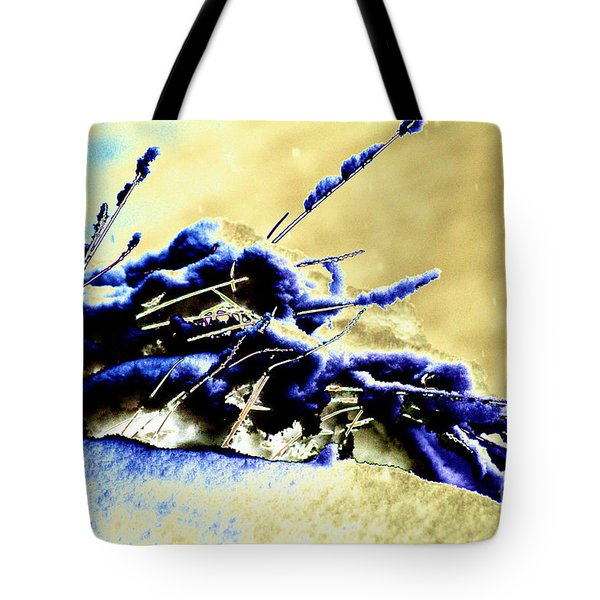 Cold Day Tote Bag by Carol Lynch