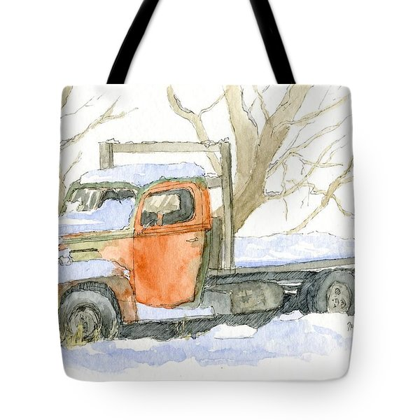 Cold Ford Tote Bag