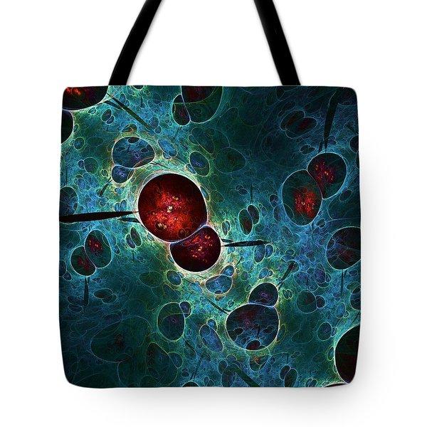 Cold Fusion Tote Bag by Anastasiya Malakhova